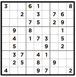 picture regarding Medium Sudoku Printable identified as Sudoku Printables through Krazydad